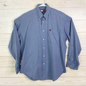 Tommy Hilfiger Men Dress Shirt Button Down